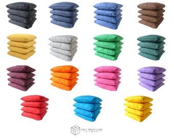 8 Elite Series Cornhole Bags – Regulation Size & Weight - Corn Filled