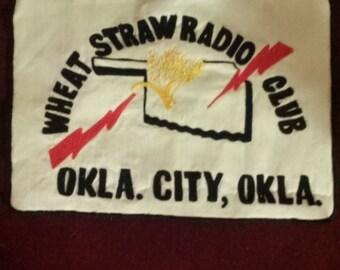 Okla. City, Okla. Vintage radio club Wheat Straw patch