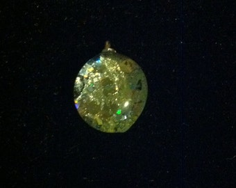 Art glass pendant