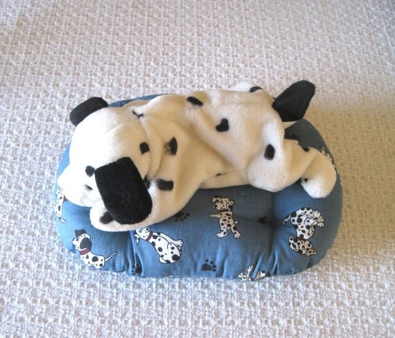 Dog Toys For Boys : Items similar to dalmatian toy dog bed or cat sale