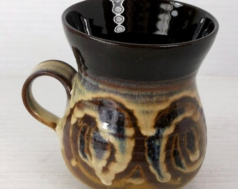 Alvingham Pottery Small Earthenware Mug Made in England