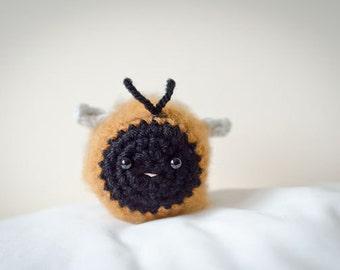 Cute Mystery Carder Bee Amigurumi Kawaii Carder Bee - Amigurumi Bee Crochet  OOAK
