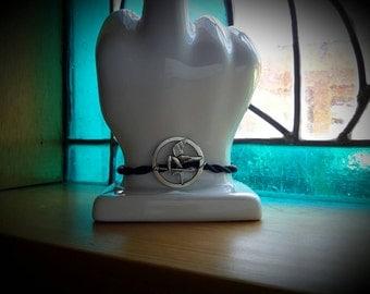 Dollar S/H! Mockingjay Simple Twist n Tie Bracelet Hunger Games New