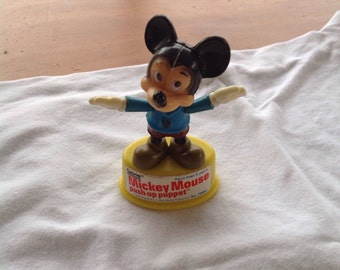 Mickey Mouse Push Up Puppet