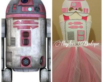 Star Wars-Pink R2D2 Tutu Dress
