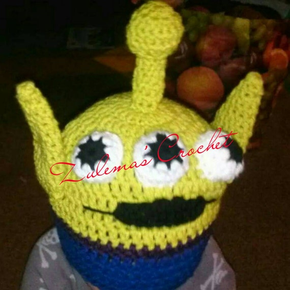 Free Crochet Pattern For Toy Story Alien Hat Pakbit For