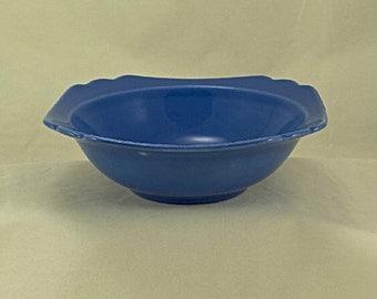 Homer Laughlin Riviera China Mauve Blue Cereal Bowl