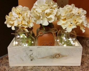 Rustic Centerpiece Serving Tray Bread Roll By
