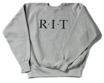 RIT 12.5 oz. Heavyweight Crewneck