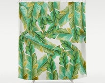 Unique Banana Leaf Fabric Related Items Etsy