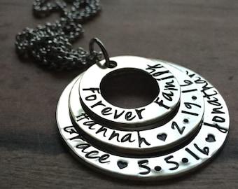 Adoption Necklace, Adoption Gift, Gotcha Day Gift, Adoption Jewelry, Family Day, Mother's Necklace, Foster Care, China Adoption, Customized