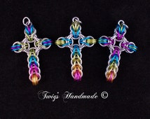 Chainmaille Celtic Cross Tutorial