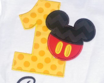 Mickey Mouse Numbers Etsy