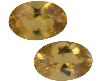 Marialite Loose Gemstone Oval Cut Set of 2 1A Quality 6x4mm TGW 0.65 cts.