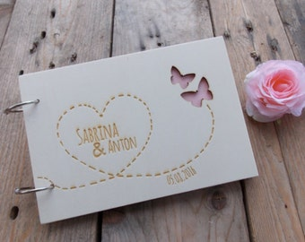 "Wedding guestbook ""Butterfly"""