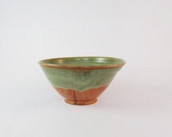 sage green ceramic bowl