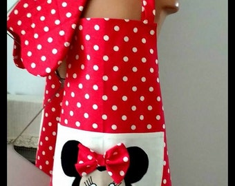 Minnie Mouse Kitchen Apron - For childs