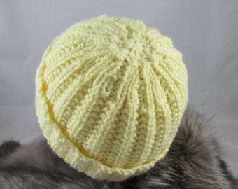 Yellow Toddler Hat