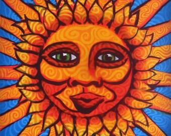 Original Sun Painting