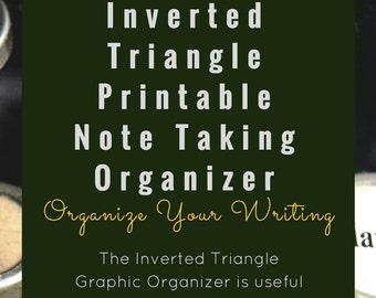 Inverted Triangle Note Taking Organizer