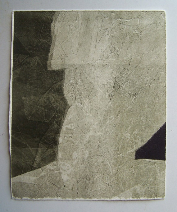 Different Shades Of Gray Monotypes 5 8x10