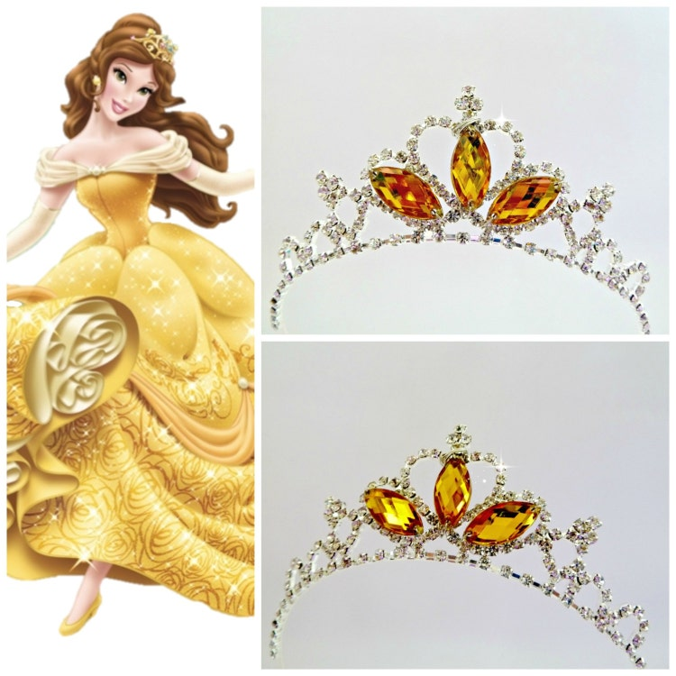 Princess Belle Crown The Beauty And The Beast By Likethestars