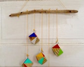Modern Colorful Geometric Mobile