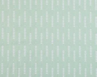 Boppy Cover -  Mint Triangle Arrows