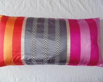 Designers Guild Fabric Hiranya Fuchsia Cushion Cover / Pillow