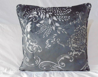 Designers Guild Fabric Fredensborg Raven Cushion Covers / Pillow 50 x 50 cm