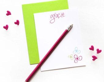 Girl Stationary. Kids Stationery Sets. Kids Stationary. Birthday Thank You Cards. Personalized Stationery Set. Personalized Note Cards.