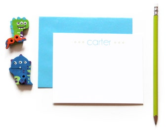 Kids Stationery Sets. Boys Stationary. Kids Note Cards. Personalized Stationery for Kids. Personalized Stationery Kids. Kids Gift.Set of 10.