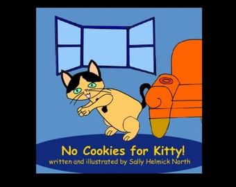 Kitty Cat Book for Children.  Children's cat book.  Funny book about cats.