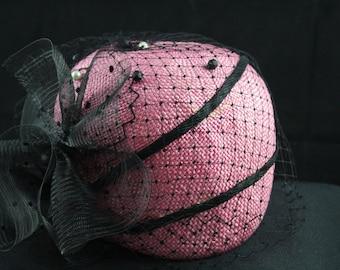 Vintage 1960's Pink Hat