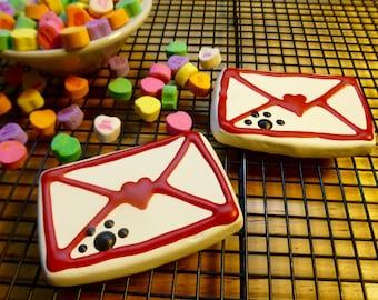 Dog Treats: Valentine Love Notes - Homemade Dog Cookies