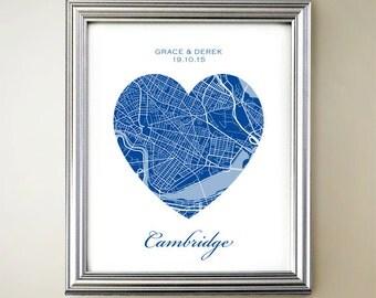 Cambridge Heart Map