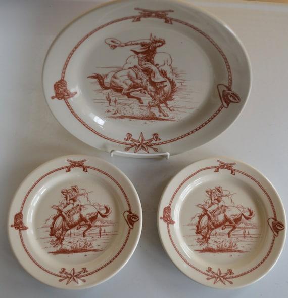 Vintage Western Dinnerware 117