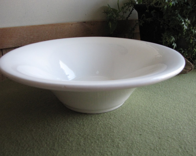 White Ceramic Bowl Centerpiece Or Coffee Table Ceramica Varma Bowls Made in Italy
