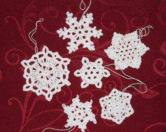 crochet snowflakes Nr. 1