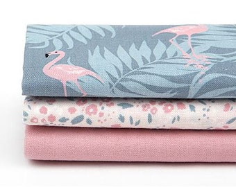 Charming - Quarter Fabric Pack 3 Fabric 1 set - Sets for 3 each 45 X 55 cm