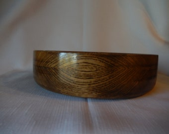 Hand Made Wood Bowl (Ash) With Salad Bowl Finish