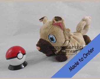 Made to Order Rockruff beanie Pokemon Sun and Moon
