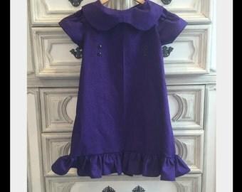 Violet Dress, Violet Costume, Frieda Costume, Lucy Van Pelt Costume, Peanuts Costume, Charlie Brown Costume, Snoopy Costume