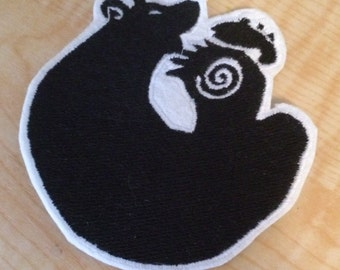 King- Seven Deadly Sins Bear Sew on Patch