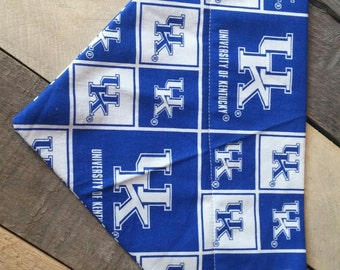 University of Kentucky dog collar, Kentucky Wildcat dog bandana, Kentucky Wildcat dog collar, University of Kentucky bandana, dog gifts