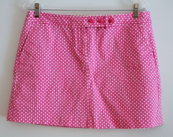 Pink POLKA DOT SKIRT