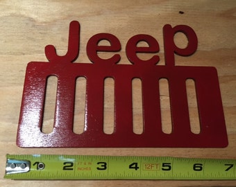 Jeep - Steel Red Powder Coat