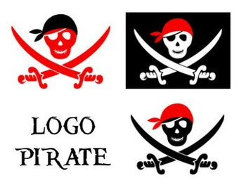 Pack of 3 designs Pirate