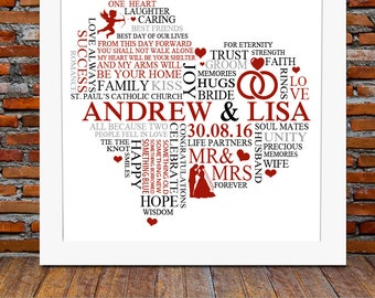 Cool Wedding Gift Ideas Uk : Wedding Gifts Ideas For Couples unique wedding gift etsy uk