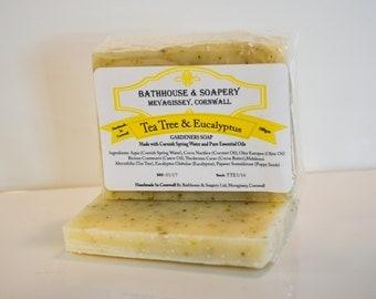 Gardeners/Kitchen Soap (Tea Tree & Eucalyptus)